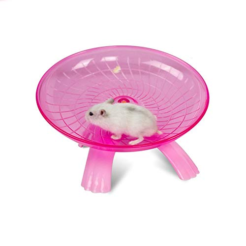 Best Quality - Toys - Silent Hamster Running Exercise Wheel Rack Small pet Animal Hamster Sports Balls Toys Hamster Accessories - by VietFA - 1 PCs by VietFA
