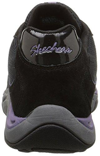 Skeakers Donna Pedometro Moda Sneaker Nera