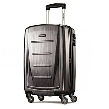 Samsonite Winfield 2 Fashion 20  Spinner (Charcoal, 20-inch)