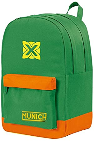 Munich Colors 453729 Mochila Tipo Casual, 45 cm, 19 litros, Verde: Amazon.es: Equipaje