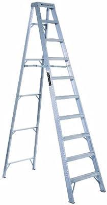 Louisville Ladder 300-Pound Duty Rating Aluminum Stepladder