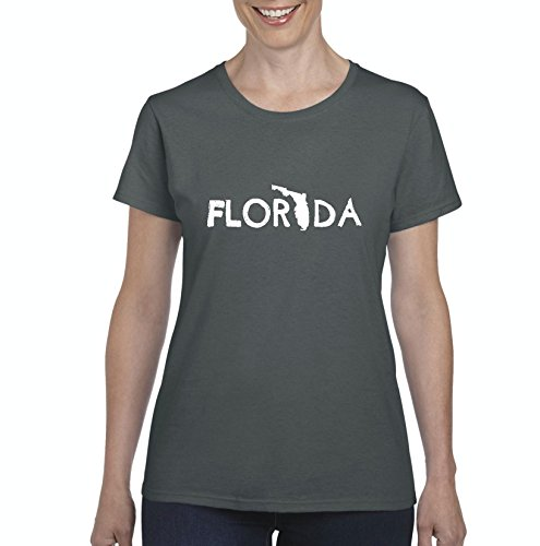 Ugo Florida Map What to do in Florida? Orlando Hotels Home of University of Florida UF Women's T-shirt - To Florida Where Orlando Shop In