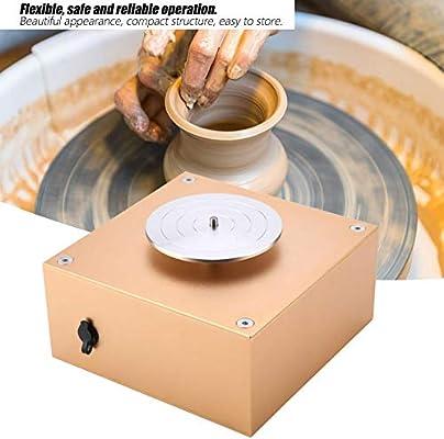 12V 1500RPM Mini máquina de Ruedas de cerámica 8.5cm Tocadiscos ...