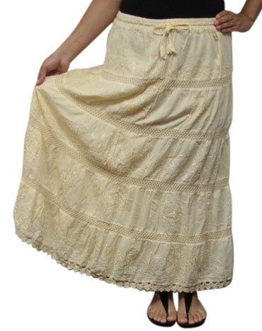 BombayFashions Length Womens Peasant Bohemian