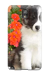 Oscar M. Gilbert's Shop Best Top Quality Rugged Shetland Sheepdog Puppy Case Cover For Galaxy Note 3