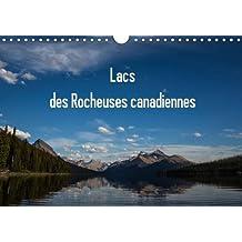 Lacs des Rocheuses canadiennes 2016: Tous les lacs sont situes dans les differents parcs des Rocheuses au Canada.