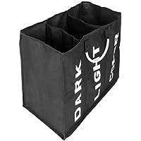 Dongtu Three Lattice Large Capacity Laundry Basket
