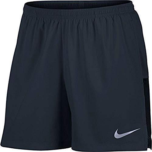 Nike Mens Flex Running Short 856836-475 (Large, Dark Obsidian/Black)