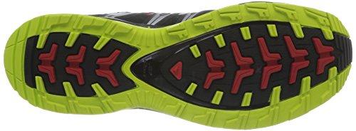 Salomon Mens Xa Pro 3d Scarpa Da Trail Running Veloce / Nero / Verde Geco