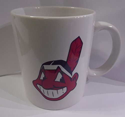 Cleveland Indians 2 sided MLB 11oz Coffee Cup NEW (Sided Coffee Mug)