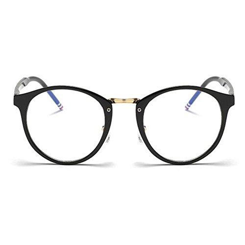 Brillante fatiga Filtro Hombre Mujer Xinvision Lente ojos de Computadora Negro Vintage luz Claro Moda Anti Gafas azul los Previniendo On5nqUF1