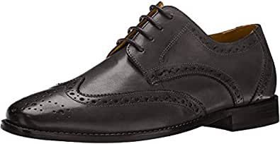 Florsheim Men's Montinaro WG OX Shoe Lace Up Oxford, Black, 9.5 Wide
