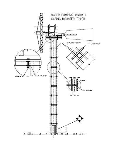 windmill plans diy water aerator alternative energy wind power generator antenna