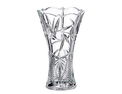 - Czech Bohemian Crystal Glass VASE 12