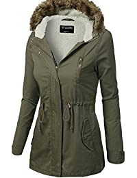 TL Women's Versatile Militray Anorak Parka Hoodie jackets...