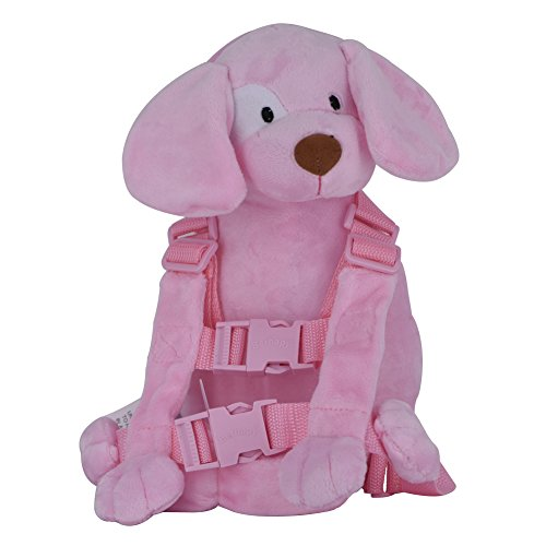 Harness Monkey Backpack (Berhapy 2 in 1 Monkey Toddler Safety Harness Backpack Children's Walking Leash Strap (pink dog))