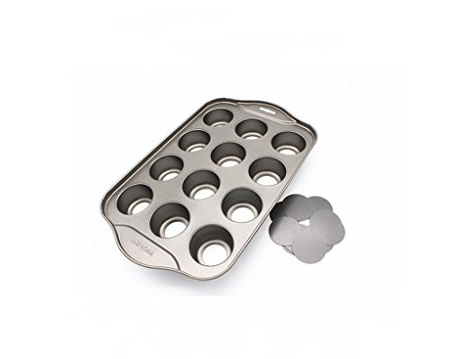 12 Cups Mini Cheesecake Pan, springform Pan,bundt cake pan (Pan Springform Bundt)