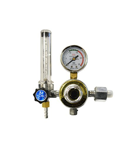 36 Volt Argon CO2, Oxygen, Acetylene Regulator by EZ Travel Collection