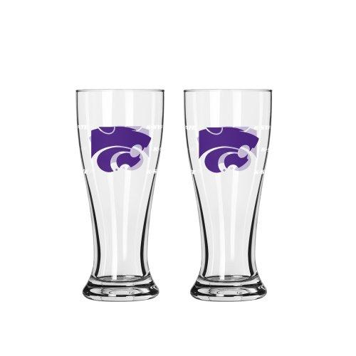 - Boelter Brands NCAA Kansas State Wildcats Mini Pilsner, 2.5-ounce, 2-Pack