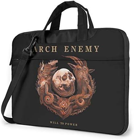 アーチ・エネミー Arch Enemy ビジネスバッグ メンズ パソコンバッグ ラップトップバッグ ノートパソコンケース 手提げ 360°保護ケース 多機能 大容量 ファッション 軽量 便利 耐久 衝撃 男女兼用