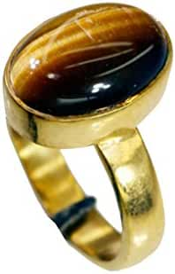 good Tiger eye Copper Brown Ring india L-1in US