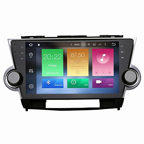 SYGAV Octa Core 2G+32G Android 6.0 Car Stereo 10.2' Video Player for Toyota...