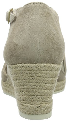 Ouvert 41 Shoes Bout Comfort Sandales Femme platino Gabor Beige Silk xq1IgBB