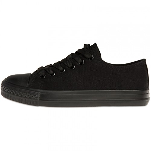 SSN002 Sneakers Black CASPAR Women Black xzF8wgwq