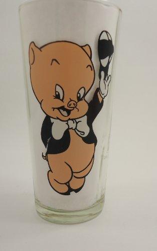 (Pepsi Collector Series Glass, Porky Pig 1973)