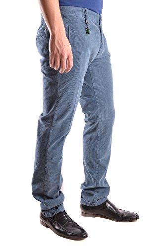 Incotex Homme MCBI154034O Vert Coton Pantalon