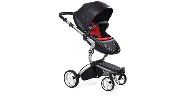 Amazon.com : Mima Xari Stroller (Black Chassis, Black Seat ...