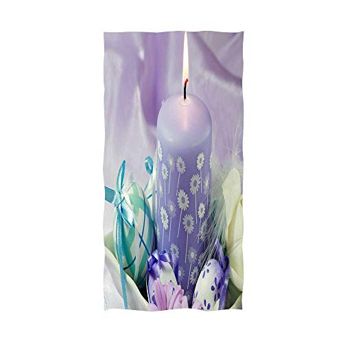 bath towel colorful easter eggs and spring blossoms ap 67 - Martex Blossoms Baby