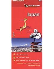 Japan 802 - Carte national