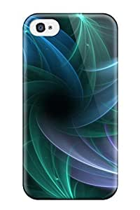 Awesome Pretty Moving Flip Case With Fashion Design For Iphone 4/4s