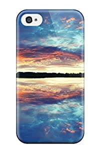2427277K14653194 Perfect Tpu Case For Iphone 4/4s/ Anti-scratch Protector Case (reflections)