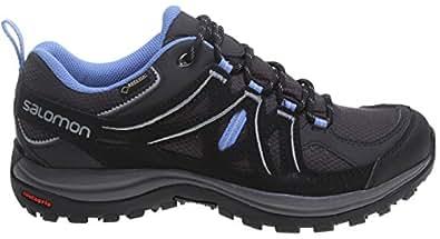 SALOMON Ellipse 2 Goretex Hiking Shoe, Women's - Asphalt Black