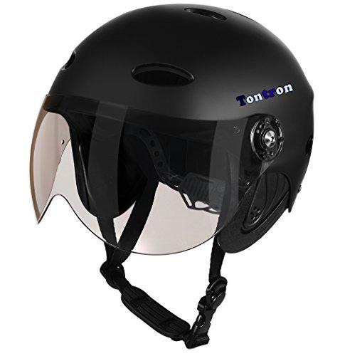 Tontron Comfy Water Sport Helmet with Eye Sheild Visor