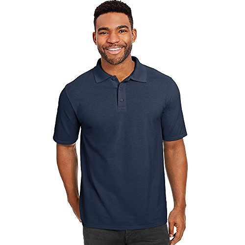 Hanes Men's X-Temp w/Fresh IQ Pique Polo Shirt