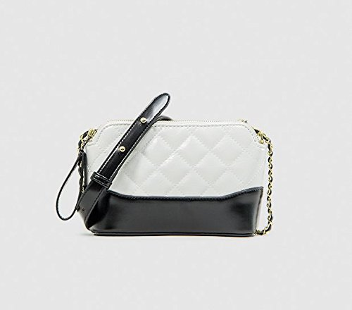 black Mini Petite marée Brise Diamond white Sac Vagabond ZHANGJIA Sac chaîne parfumée portatif xP4RYaq