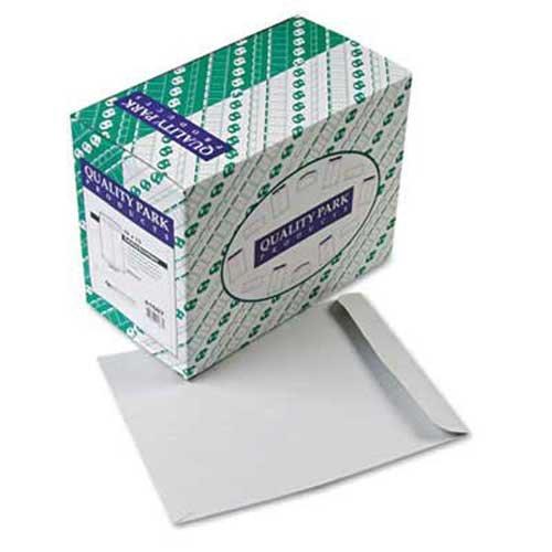Quality Park Catalog Envelope, 10 x 13, Executive Gray, 250/Box