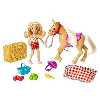 Barbie GFF50 - Spaß auf dem Bauernhof Chelsea und Pony, Spielzeug ab 3 Jahren 6