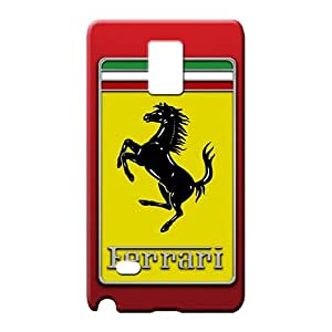 samsung note 4 case cover Super Strong skin phone carrying cases Emblema Ferrari