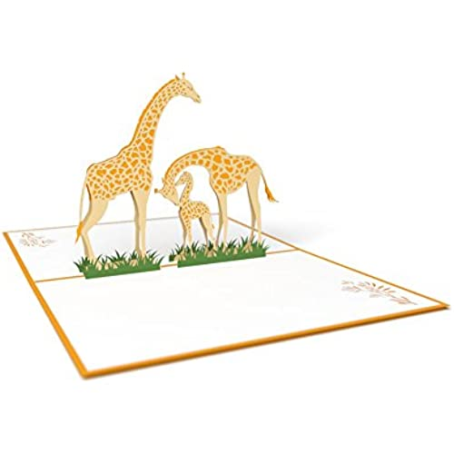 Giraffe Family Lovepop Card Sales