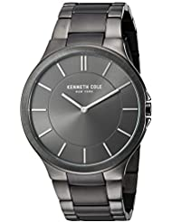 Kenneth Cole New York Mens KC9109 Slim Trip Stainless Steel Watch