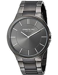 "Men's KC9109 ""Slim Trip"" Stainless Steel Watch"