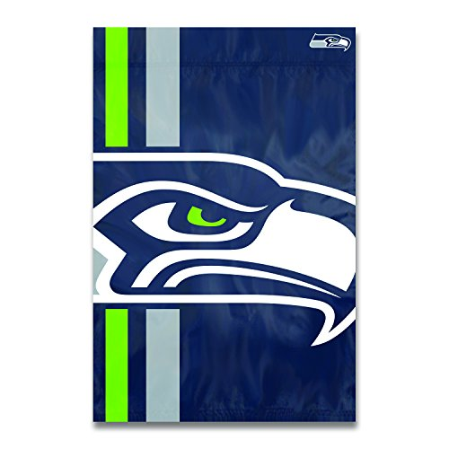 Party Animal Seattle Seahawks Bold Logo Banner NFL Flag -