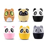 dfnbrhg Cute Animal Shape Bluetooth Speaker Portable Outdoor Multi-pattern Cartoon Style Speaker【sound equipment 】