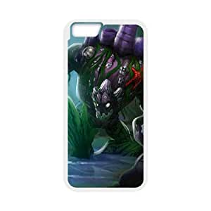 iPhone 6 Plus 5.5 Inch Cell Phone Case White League of Legends Coral Reef Malphite Ifsru