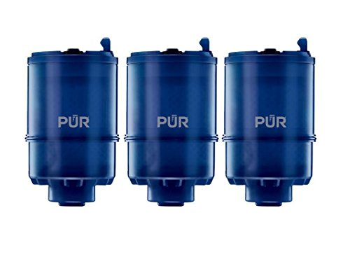 PUR RF-9999-3 Faucet Mineral Clear Faucet Replacement Water Filter Refill with 100 gallons.(3 Packs) by Watrure