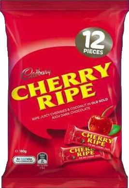 Cadbury Cherry Ripe 180g. by Cadbury